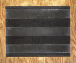 Joseph Amar. Untitled, 1988. Lead and graphite on oak, 37 1/2 x 45 in. (95.3 x 114.3 cm). Brooklyn Museum, Gift of Bette Ziegler, 1991.282.1. © artist or artist's estate