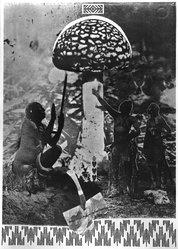 Sigmar Polke (German, born Oels, Poland, 1941-2010). Mu Nieltnam Netorruprup, 1975. Color offset on paper, sheet: 27 1/2 x 19 3/4 in. (69.9 x 50.2 cm). Brooklyn Museum, A. Augustus Healy Fund, 1991.63. © artist or artist's estate
