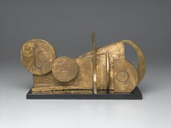 Dorothy Dehner (American, 1908-1994). Landscape, 1967. Bronze (unique), 6 1/2 x 13 x 3 1/4 in. (16.5 x 33 x 8.3 cm). Brooklyn Museum, Bequest of William K. Jacobs, Jr., 1992.107.5. © artist or artist's estate