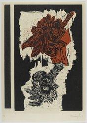 Randy Hemminghaus. Untitled, ca. 1992. Woodcut on paper, sheet: 25 3/4 x 18 in. (65.4 x 45.7 cm). Brooklyn Museum, Gift of Walter W. Sawyer, 1992.185.6. © artist or artist's estate