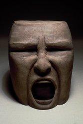 Nancy Fried (American, born 1945). Still the Nightmare, 1987. Bronze, 8 x 8 x 7 in. (20.3 x 20.3 x 17.8 cm). Brooklyn Museum, Gift of Sidney Singer, 1992.50. © artist or artist's estate