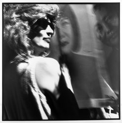 Bruce Cratsley (American, 1944-1998). Drag Mao, Wigstock, 1991. Gelatin silver photograph, image/sheet: 14 3/4 x 14 3/4 in. (37.5 x 37.5 cm). Brooklyn Museum, Gift of Mr. and Mrs. Gilbert Millstein, 1993.169.3. © artist or artist's estate