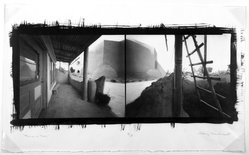 Craig Barber (American, born 1947). Rancho de Taos, 1991. Pinhole, platinum, and palladium photograph, image: 8 1/8 x 20 in. (20.6 x 50.8 cm). Brooklyn Museum, Gift of the artist, 1994.133. © artist or artist's estate
