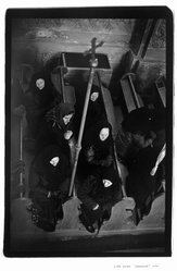 Lida Suchy. Funeral; Kamionka, Bratislava, Czechoslovakia, 1990. Gelatin silver photograph, sheet: 20 x 16 in. Brooklyn Museum, Purchased with funds given by the Horace W. Goldsmith Foundation, Harry Kahn, and Mrs. Carl L. Selden, 1994.176.1. © artist or artist's estate