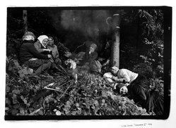 Lida Suchy. Legnava I, Bratislava, Czechoslovakia; Woods, Women Sleeping, 1990. Gelatin silver photograph, sheet: 16 x 20 in. Brooklyn Museum, Purchased with funds given by the Horace W. Goldsmith Foundation, Harry Kahn, and Mrs. Carl L. Selden, 1994.176.2. © artist or artist's estate