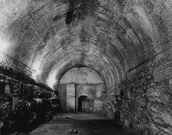 Stanley Greenberg (American, born 1956). Former Wine Cellar, Brooklyn Bridge, 1992. Gelatin silver photograph, Image: 10 1/2 x 13 1/2 in. (26.7 x 34.3 cm). Brooklyn Museum, Gift of the artist, 1994.86. © artist or artist's estate