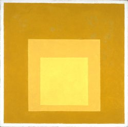 Josef Albers (American, 1888-1976). Homage to the Square, 1957. Oil on masonite, 18 x 18 in. (45.7 x 45.7cm). Brooklyn Museum, Gift of The Josef and Anni Albers Foundation, 1995.197.1. © artist or artist's estate