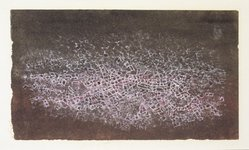Mark Tobey (American, 1890-1976). Dual Presence, 1954. Tempera, 7 x 4in. (17.8 x 10.2cm). Brooklyn Museum, Bequest of Mrs. Carl L. Selden, 1996.150.26. © artist or artist's estate