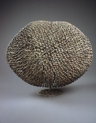 Harry Bertoia (American, born Italy, 1915-1978). Bush. Bronze, dark red and green patina, Height: 15in. (38.1cm). Brooklyn Museum, Bequest of Mrs. Carl L. Selden, 1996.150.7. © artist or artist's estate