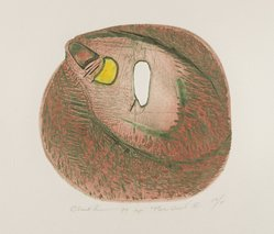 Bernard Childs (American, 1910-1985). The Owl II, 1970. Power tool engraving, Sheet: 9 15/16 x 12 15/16 in. (25.3 x 32.9 cm). Brooklyn Museum, Gift of Judith Childs in honor of Una E. Johnson, 1996.52.1. © artist or artist's estate