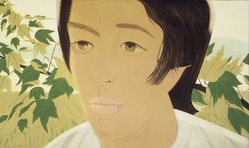 Alex Katz (American, born 1927). Boy with Branch I, 1975. Aquatint, 24 x 40 1/8in. (61 x 101.9cm). Brooklyn Museum, Gift of the artist, 1996.97.26. © artist or artist's estate