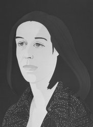 Alex Katz (American, born 1927). Ada Four Times, 1979-1980. Screenprint and lithograph in 10 colors, 30 1/16 x 22 15/16 in. (76.4 x 56.8 cm). Brooklyn Museum, Gift of the artist, 1996.97.2. © artist or artist's estate