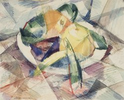 Vaclav Vytlacil (American, 1893-1984). Untitled (Still Life), n.d. Watercolor on paper, 13 1/2 x 16 9/16 in.  (34.3 x 42.1 cm). Brooklyn Museum, Gift of the Estate of Vaclav Vytlacil, 1998.100.2. © artist or artist's estate