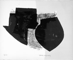Manolis Calliyannis (Greek, born 1926). Untitled, 1953. Lithograph on paper, sheet: 12 7/8 x 15 13/16 in. (32.7 x 40.2 cm). Brooklyn Museum, Gift of Philip Gould, 1998.192.1. © artist or artist's estate