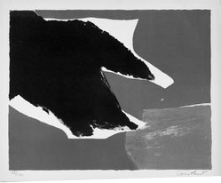 Constant (Constant Anton Nieuwenhuys) (Dutch, 1920-2005). Untitled, 1953. Lithograph on paper, sheet: 12 7/8 x 15 3/4 in. (32.7 x 40 cm). Brooklyn Museum, Gift of Philip Gould, 1998.192.3. © artist or artist's estate