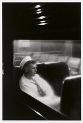 Louis Stettner (American, born 1922). Sailor, Penn Station, 1958. Gelatin silver photograph, image: 15 1/2 x 11 1/2 in.  (39.4 x 29.2 cm). Brooklyn Museum, Purchased with funds given by the Horace W. Goldsmith Foundation, Karen B. Cohen, Ardian Gill, and Dr. Joel E. Hershey, 1999.7. © artist or artist's estate