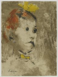 Jack Levine (American, 1915-2010). Lenya, 1967. Aquatint and etching, Image: 11 11/16 x 8 15/16 in. (29.7 x 22.7 cm). Brooklyn Museum, Gift of the artist, 2002.53.10. © artist or artist's estate