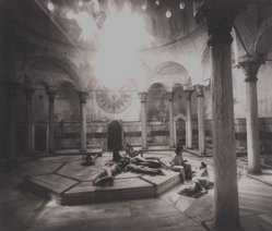 Jennette Williams. [Untitled] (Baths, Istanbul, Turkey), 2002. Platinum print, hand coated, Sheet: 16 x 17 1/2 in. (40.6 x 44.5 cm). Brooklyn Museum, Gift of Jennette Williams, 2003.46. © artist or artist's estate