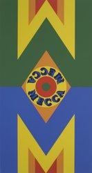 Robert Indiana (American, born 1928). Mecca III, 1977. Silkscreen, Sheet: 36 x 25 in. (91.4 x 63.5 cm). Brooklyn Museum, Gift of Helen and Monte Getler, 2003.88.3. © artist or artist's estate