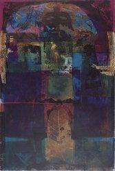 Luiz Guimaraes Monforte (Brazilian, born 1949). [Untitled] (Leaf), 2000. Digital print, 19 11/16 x 24 1/2 in. (50 x 62.2 cm). Brooklyn Museum, Gift of the artist, 2004.68.15. © artist or artist's estate