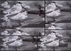 Luiz Guimaraes Monforte (Brazilian, born 1949). [Untitled] (Cloud), 2000. Digital print, 19 11/16 x 24 1/2 in. (50 x 62.2 cm). Brooklyn Museum, Gift of the artist, 2004.68.5. © artist or artist's estate