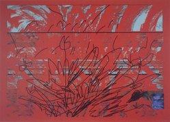 Luiz Guimaraes Monforte (Brazilian, born 1949). [Untitled] (Red), 2000. Digital print, 19 11/16 x 24 1/2 in. (50 x 62.2 cm). Brooklyn Museum, Gift of the artist, 2004.68.6. © artist or artist's estate