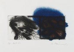 Arnulf Rainer (Austrian, born 1929). Zwei Kopfe  (Two Heads), 1969. Etching, Mat: 16 x 22 in. (40.6 x 55.9 cm). Brooklyn Museum, Gift of Nancy and Arnold Smoller, 2005.46.6. © artist or artist's estate