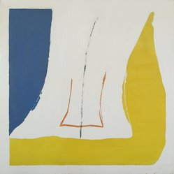 Helen Frankenthaler (American, 1928-2011). [Untitled], 1968. Print on plastic, 36 1/4 x 36 1/4 x 1 in. (92.1 x 92.1 x 2.5 cm). Brooklyn Museum, Bequest of Anita Steckler, 2005.47. © artist or artist's estate