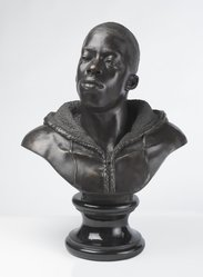 Kehinde Wiley (American, born 1977). Houdon Paul-Louis, 2011. Bronze with polished stone base, 34 x 26 x 19 in. (86.4 x 66 x 48.3 cm). Brooklyn Museum, Frank L. Babbott Fund and A. Augustus Healy Fund, 2012.51. © artist or artist's estate