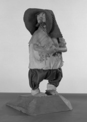 Luis Hidalgo (Mexican, born 1901). Figure of Panchito, 20th century. Wax, 10 1/4 x 5 7/16 x 5 in. (26 x 13.8 x 12.7 cm). Brooklyn Museum, Museum Collection Fund, 27.659. © artist or artist's estate