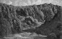 Herbert Herman Newton (British, 1881-1959). Solitude Valley, 1926. Oil on canvas, 16 1/8 x 24 1/16 in.  (41.0 x 61.1 cm). Brooklyn Museum, Gift of Mrs. C. I. Stralem, 28.381. © artist or artist's estate