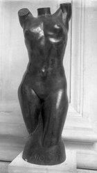 Arthur Lee (American, born Norway, 1881-1961). Volupté. Bronze, 40 3/8 x 13 13/16 x 11 3/8 in. (102.6 x 35.1 x 28.9 cm). Brooklyn Museum, Robert B. Woodward Memorial Fund, 30.1108. © artist or artist's estate
