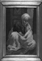 Aleksandr Yakovlev (Russian, 1887-1938). Arab Merchant, 1930. Oil on canvas, 19 1/8 x 12 13/16in. (48.6 x 32.5cm). Brooklyn Museum, Frederick Loeser Fund, 30.1150. © artist or artist's estate