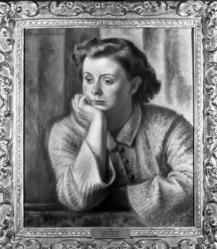 Eugene E. Speicher (American, 1883-1962). Lois, 1929. Oil on canvas, 22 1/4 x 19 3/8 in. (56.5 x 49.2 cm). Brooklyn Museum, Carll H. de Silver Fund , 30.15. © artist or artist's estate