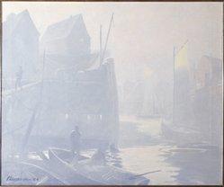 Ogden M. Pleissner (American, 1905-1983). Chaisson's House, 1926-1927. Oil on canvas, 25 x 30 in. (63.5 x 76.2 cm). Brooklyn Museum, Gift of Edward C. Blum, 30.42. © artist or artist's estate