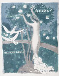 Maurice Denis (French, 1870-1943). Love (Amour), 1892-1899. Color lithograph on wove paper, Image: 21 x 16 15/16 in. (53.3 x 43 cm). Brooklyn Museum, By exchange, 38.437. © artist or artist's estate