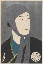 Yoshikawa Kenjiro (Japanese). Yakamura Gansiro as Kamiya Jihei, published 1922. Woodblock color print, 16 1/8 x 10 9/16 in. (41 x 26.8 cm). Brooklyn Museum, Gift of Louis V. Ledoux, 40.138