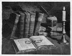 Barton Bachman. Libros Virumque Cano. Photograph, sheet: 16 x 10 15/16 in. (40.6 x 27.8 cm). Brooklyn Museum, Gift of the artist, 40.564