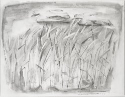 Frances Pratt (American, 1913-2003). The Grasses. Watercolor on paper , sight: 19 x 24 in. (48.3 x 61 cm). Brooklyn Museum, Dick S. Ramsay Fund, 47.112. © artist or artist's estate