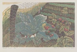James D. Havens (American, 1900-1960). Rabbit Fence, 1946. Woodcut, 6 5/16 x 10 1/16 in. (16.1 x 25.5 cm). Brooklyn Museum, Dick S. Ramsay Fund, 47.56. © artist or artist's estate