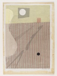 Ernst Hacker (American, 1917-1987). Interior Landscape, Tokoyo, 1946, 1946. Woodcut, 12 11/16 x 9 in. (32.2 x 22.8 cm). Brooklyn Museum, Gift of Samuel Golden, 47.94.15. © artist or artist's estate