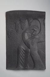 Alfeo Faggi (American, born Italy, 1885-1966). Christ in the Garden, 1949. Bronze, 22 3/8 x 15 1/8 x 1 1/8 in. (56.8 x 38.4 x 2.9 cm). Brooklyn Museum, Anonymous gift, 50.37. © artist or artist's estate