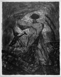 Rufino Tamayo (Mexican, 1899-1991). Two Women, 1950. Lithograph on paper, 21 1/8 x 16 3/4 in. (53.7 x 42.5 cm). Brooklyn Museum, Dick S. Ramsay Fund, 51.69.2. © D.R. Rufino Tamayo / Herederos / México. Fundación Olga y Rufino Tamayo, A.C.