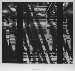 John Reed (American). Subway Light Grid, 1951. Photograph, 11 x 12 1/2 in. (27.9 x 31.8 cm). Brooklyn Museum, Gift of the artist, 52.65.3