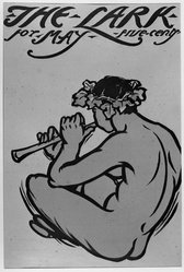 Florence Lundborg. Piping Fawn. Woodcut on paper, sheet: 18 7/16 x 12 5/16 in. (46.8 x 31.3 cm). Brooklyn Museum, Dick S. Ramsay Fund, 53.167.17. © artist or artist's estate