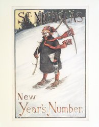 George Alfred Williams (1875-1932). St. Nicholas Poster, 1899. Lithograph, sheet: 20 1/16 x 13 9/16 in. (50.9 x 34.4 cm). Brooklyn Museum, Dick S. Ramsay Fund, 53.167.20. © artist or artist's estate