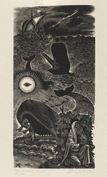 Fritz Eichenberg (American, 1901-1990). The Book of Jonah, ca. 1956. Wood engraving on heavy Japan paper, Sheet: 16 1/8 x 9 3/8 in. (41 x 23.8 cm). Brooklyn Museum, Gift of the artist, 57.47.1.7. © artist or artist's estate