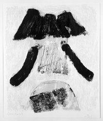 Kumi Sugai (1919-1996). The Man. Lithograph on paper, 19 x 16 1/4 in. (48.3 x 41.3 cm). Brooklyn Museum, Caroline A.L. Pratt Fund, 59.15.12. © artist or artist's estate