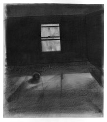Robert Birmelin (American, born 1933). Studio Window III, 1959. Charcoal on paper, 35 x 27 1/2 in. (88.9 x 69.9 cm). Brooklyn Museum, Dick S. Ramsay Fund, 60.124.2. © artist or artist's estate