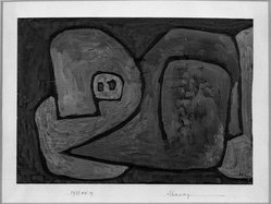 Paul Klee (Swiss, 1879-1940). Premonition (Ahnung), 1939. Gouache, 8 1/8 x 11 1/2 in.  (20.6 x 29.2 cm). Brooklyn Museum, Bequest of Alexander M. Bing, 60.30. © artist or artist's estate